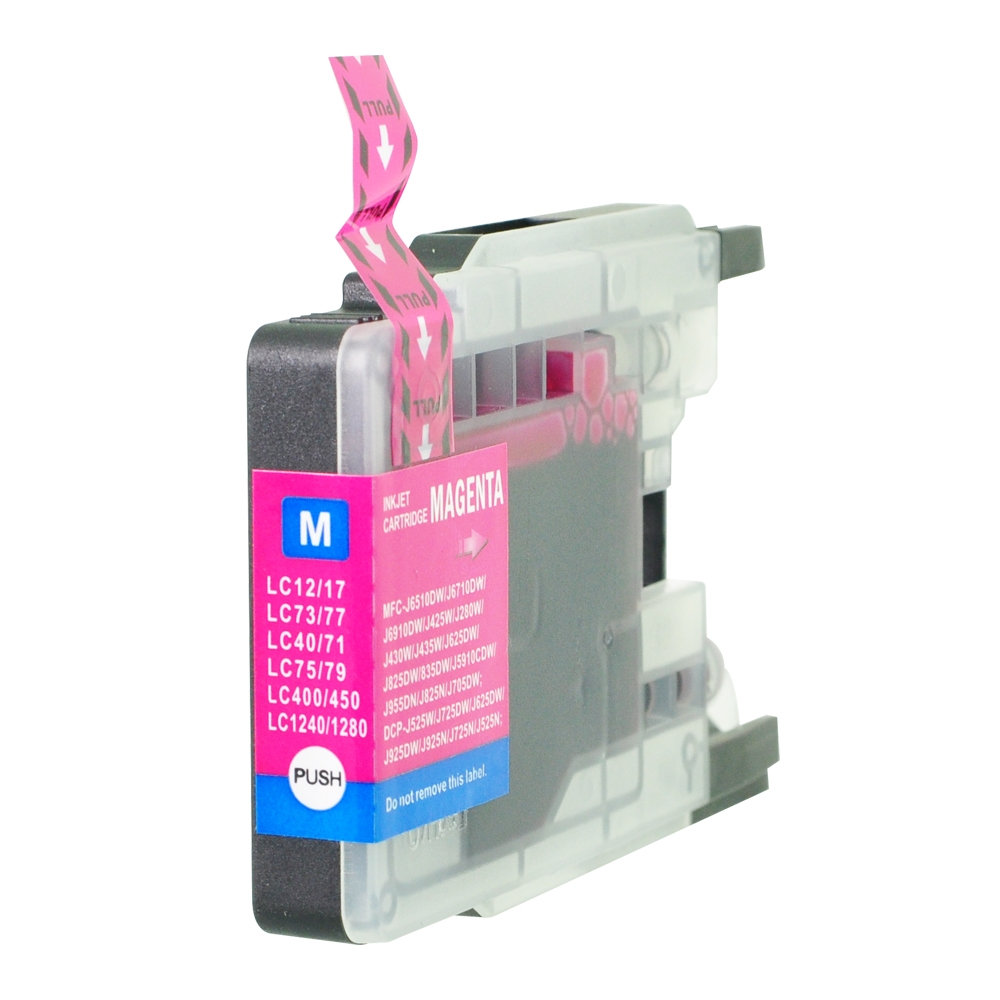PWD - Cartridge Comp Brother LC1240M Magenta Ink Ctg also for LC1280M LC1220M  [LC1240/1280M]