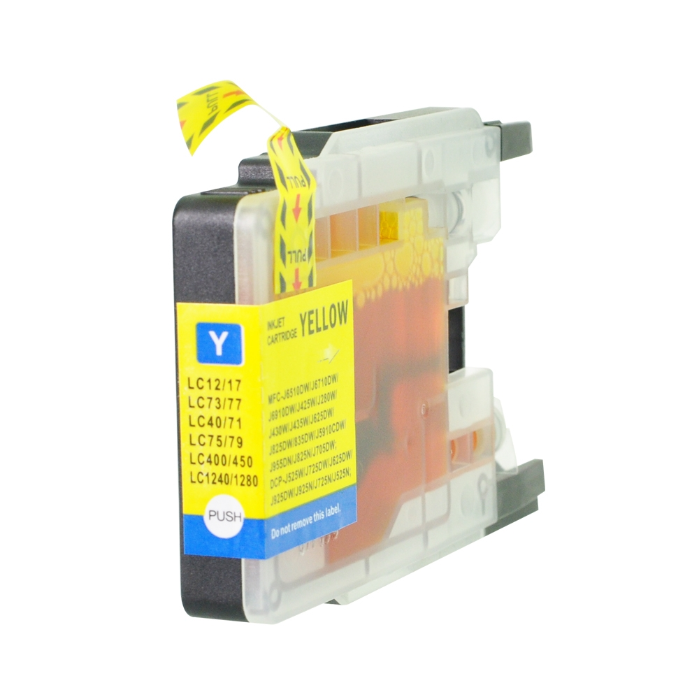 PWD - Cartridge Comp Brother LC1240Y Yellow Ink Ctg also for LC1280Y LC1220Y  [LC1240/1280Y]