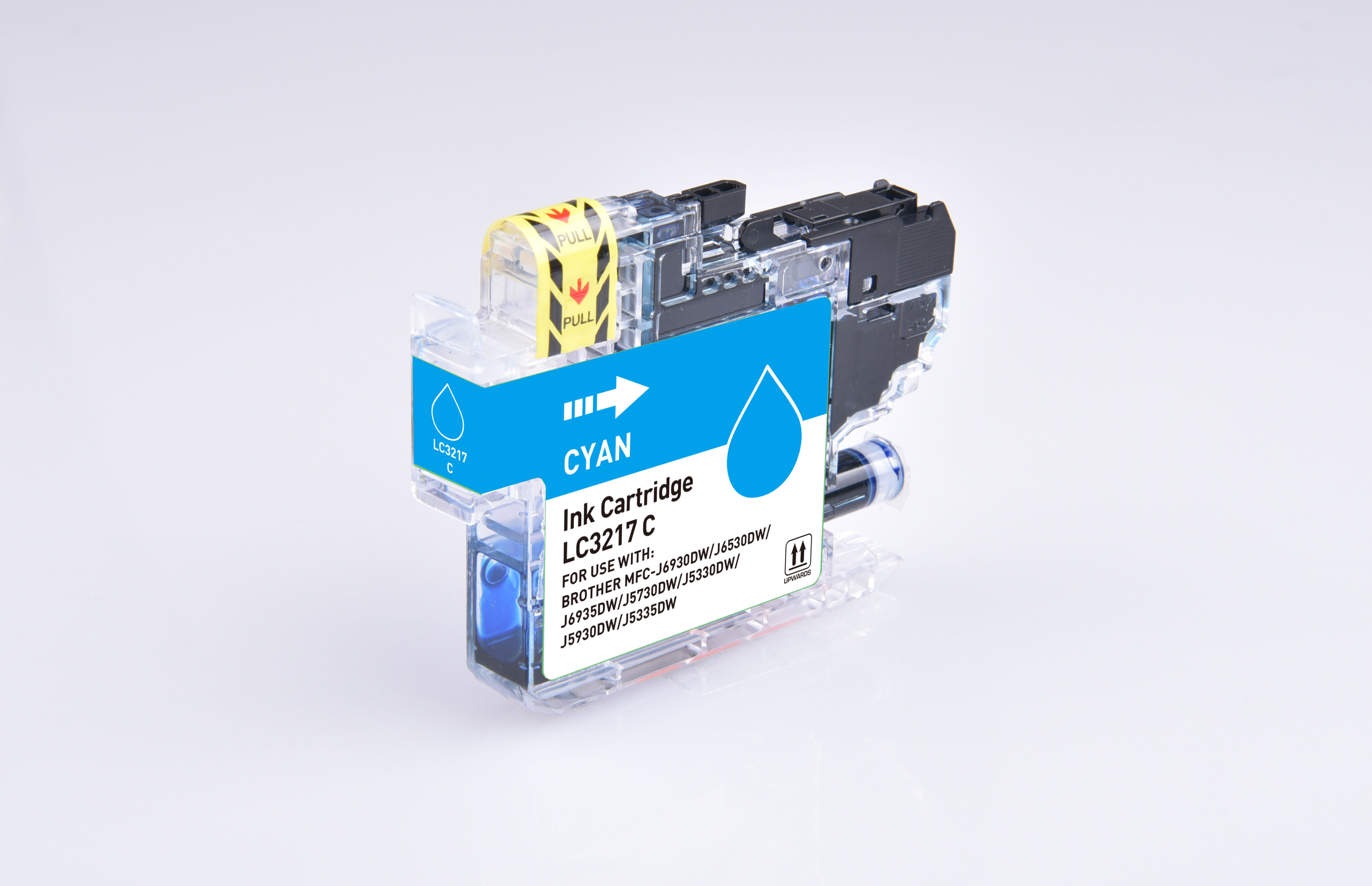 PWD - Cartridge Comp Brother LC3217C Cyan Ink Ctg