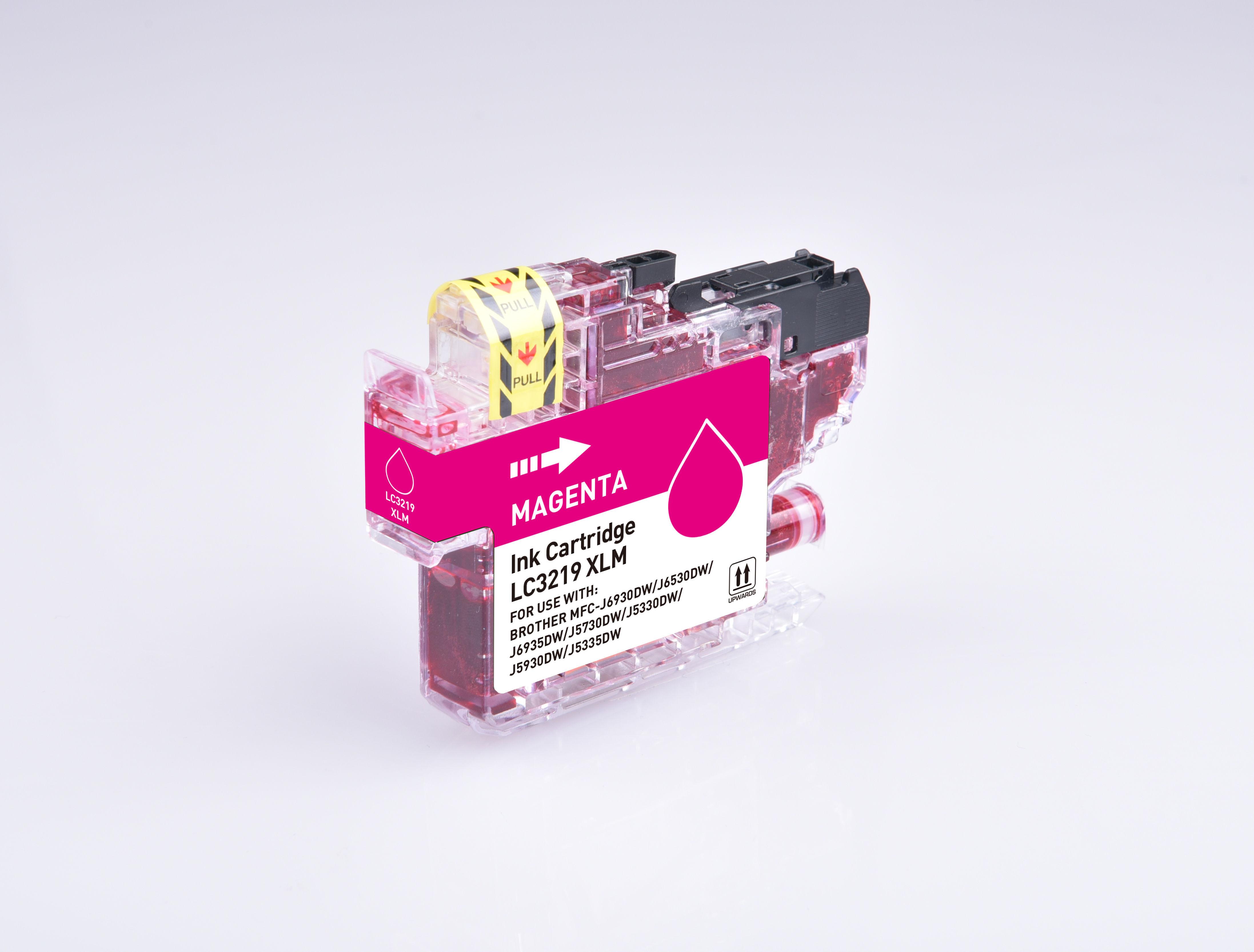 PWD - Cartridge Comp Brother LC3219XLM Magenta Hi Cap  Ink Ctg