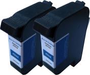 TonerCare-CArtridge Comp Francotyp Postalia Ultimail Ink Twin Pack Blue 58.0033.3137.00