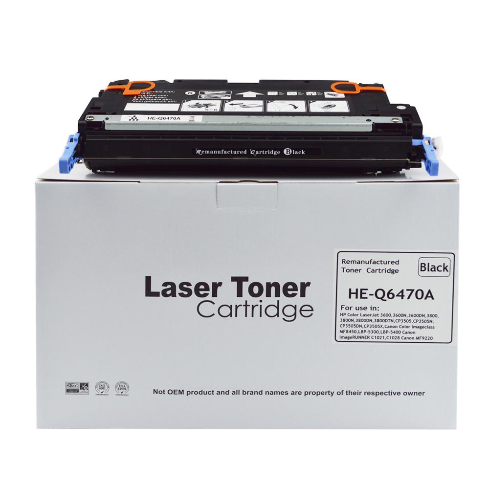 Reman Hewlett Packard Q6470A Laser Toner