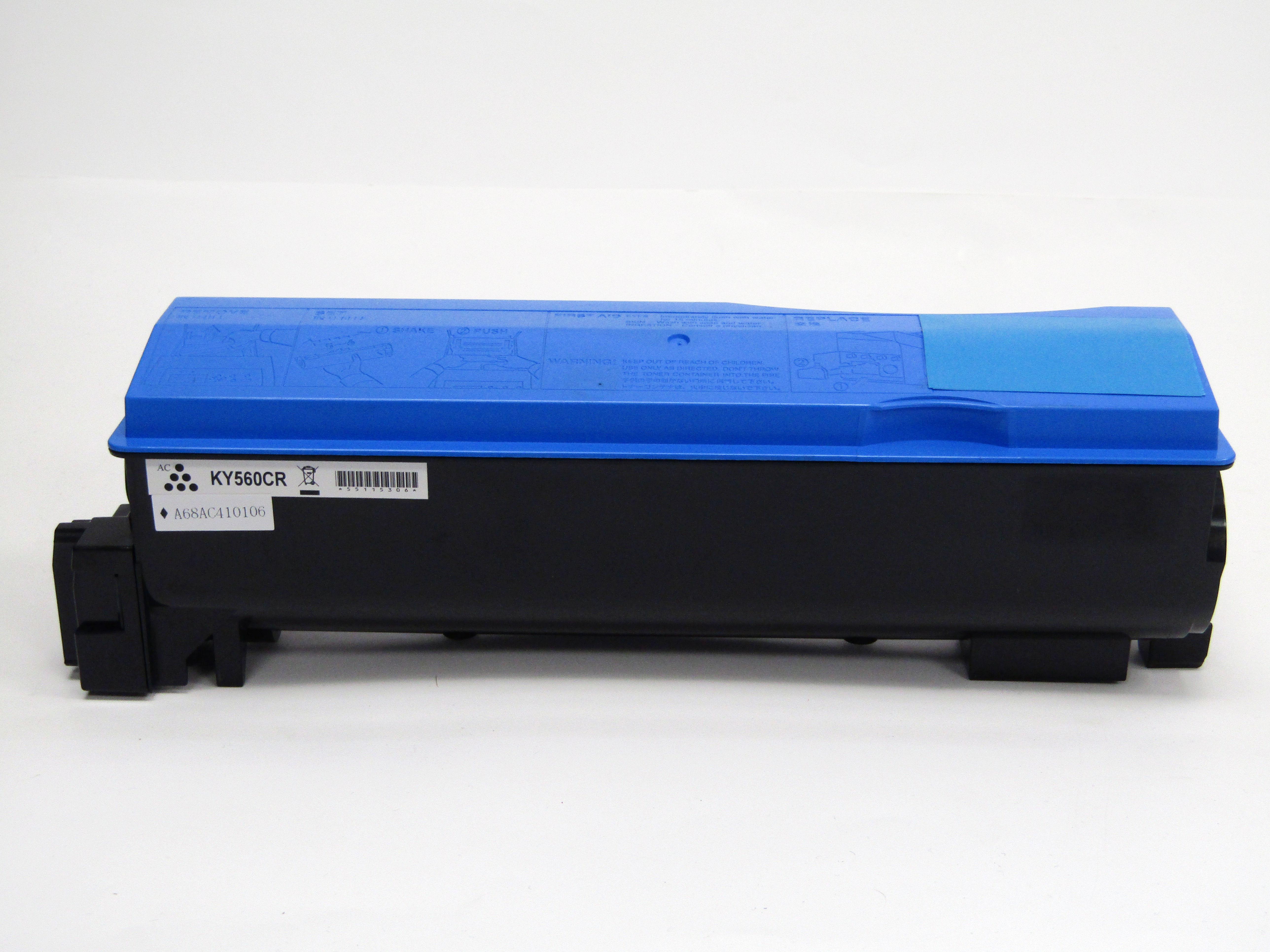 Reman Kyocera Mita TK560C Laser Toner