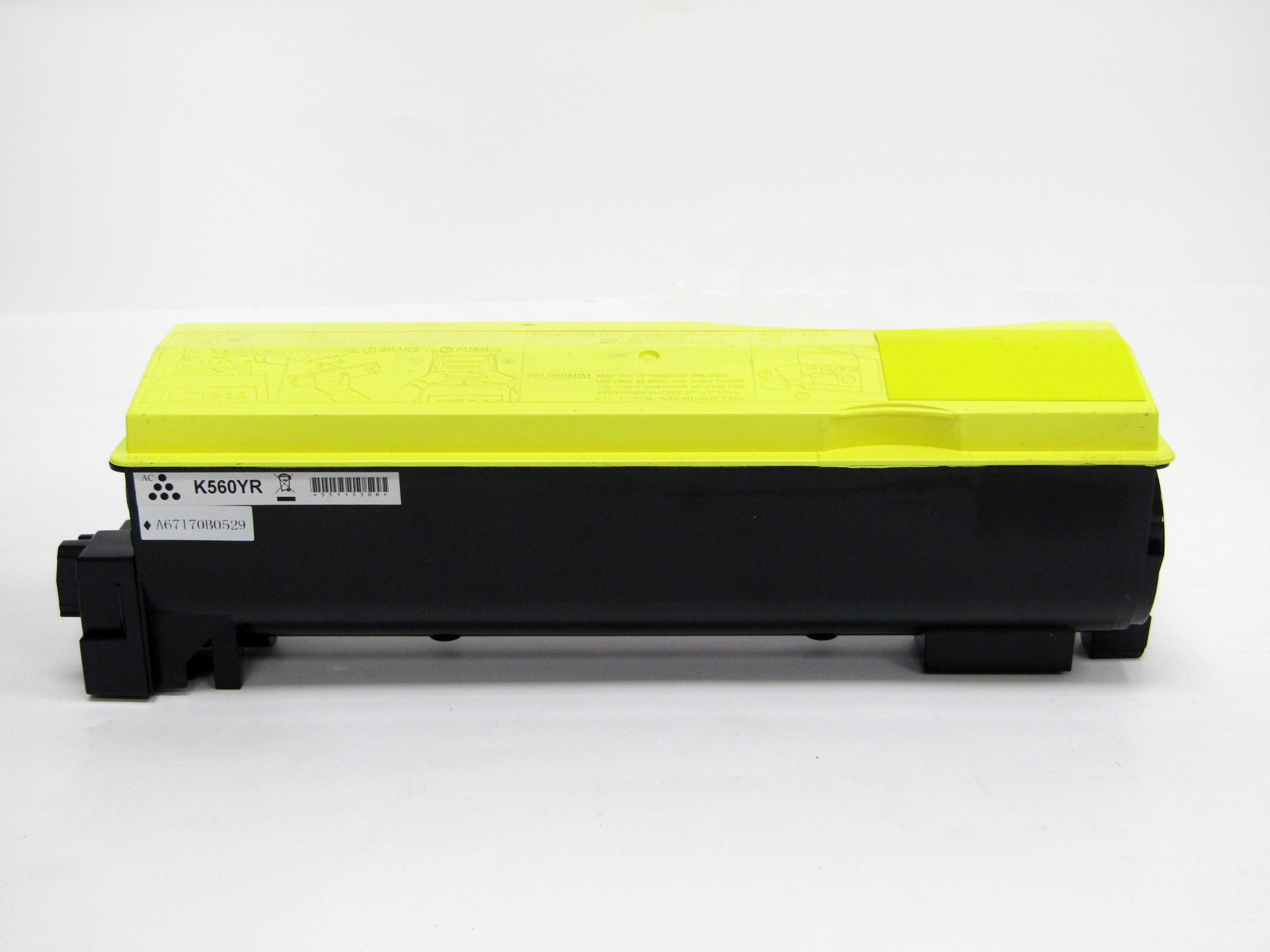 Reman Kyocera Mita TK560Y Laser Toner