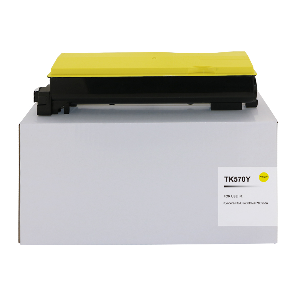 Comp Kyocera Mita TK570Y Laser Toner