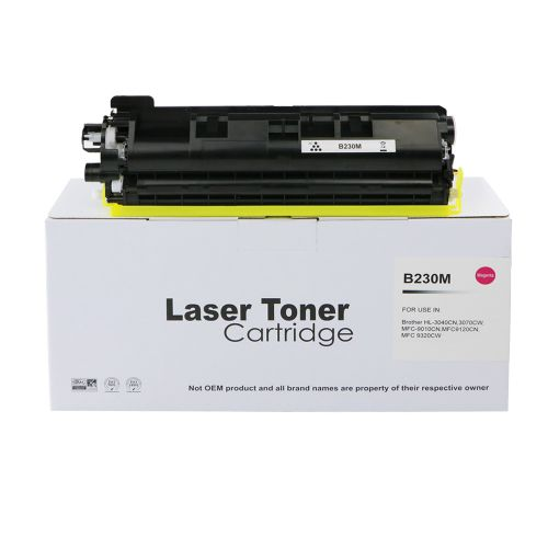 Alpa-Cartridge Comp Brother HL3040 Magenta Toner TN230M also for TN210M TN250M TN270M