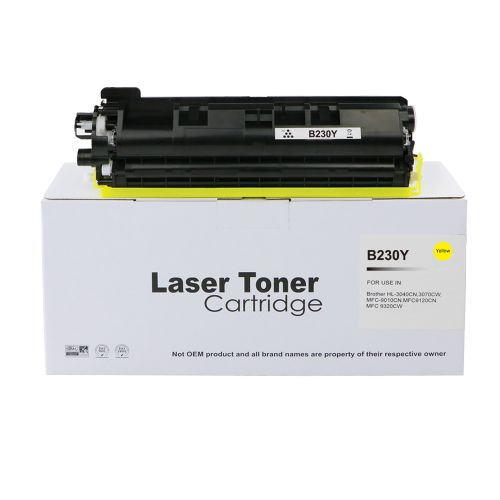 Alpa-Cartridge Comp Brother HL3040 Yellow Toner TN230Y also for TN210Y TN250Y TN270Y
