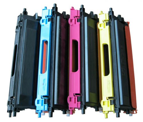 Remanufactured Brother TN135Y Yellow Hi Cap also for TN130 Toner
