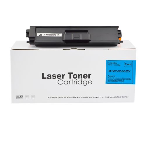 Alpa-Cartridge Comp Brother HL4140 Cyan TN325C Toner Ctg TN315C TN320C TN325C TN345C