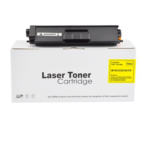 Compatible Brother TN325Y Yellow TN315Y TN320Y TN345Y Toner