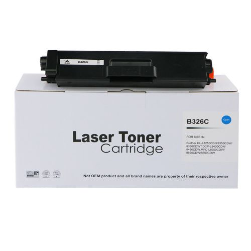 Compatible Brother TN326C Cyan Hi Cap Toner