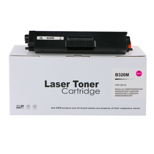 Compatible Brother TN326M Magenta Hi Cap Toner