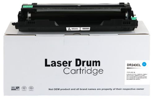 Compatible Brother DR243C Cyan DR243CL Drum