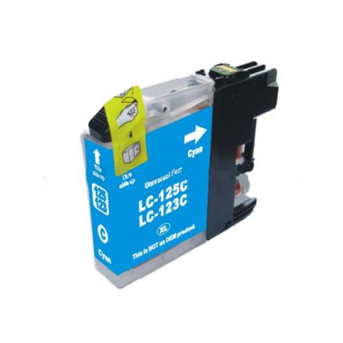 Compatible Brother LC123C Cyan Inkjet