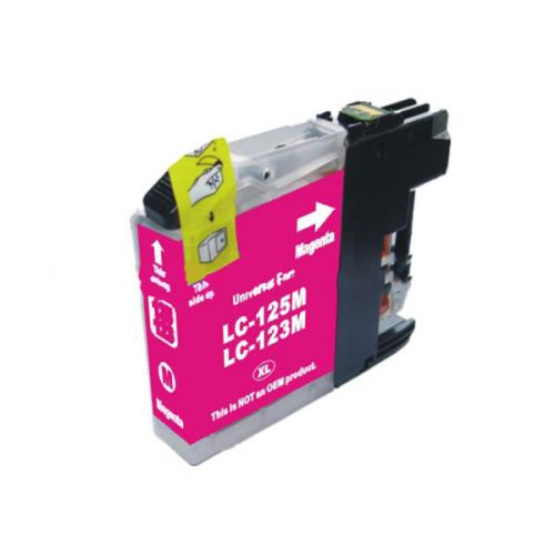 Compatible Brother LC123M Magenta Inkjet