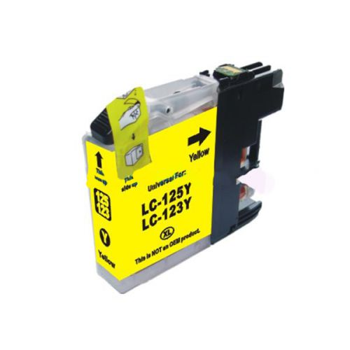 Compatible Brother LC123Y Yellow Inket