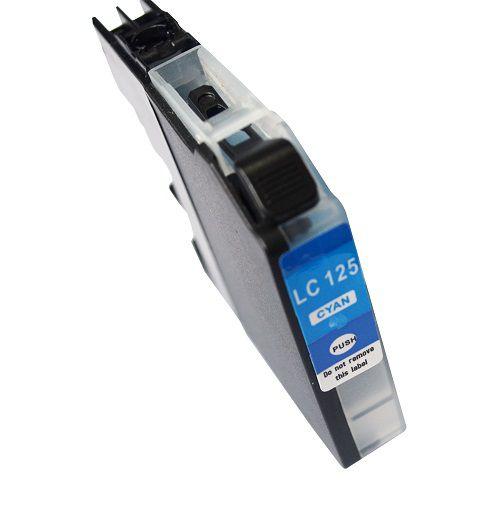 Alpa-Cartridge Comp Brother LC125C Cyan Hi Cap Ink Ctg [LC125XLC ]