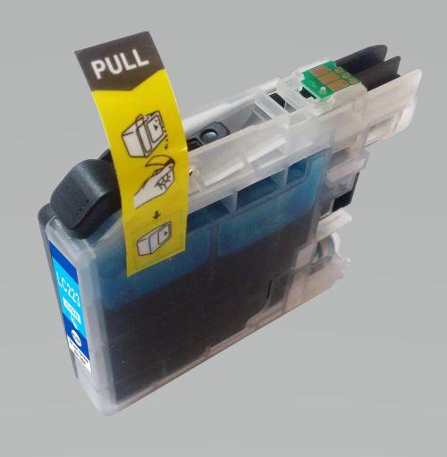 Alpa-Cartridge Comp Brother LC223C Cyan Std Cap Ink Ctg