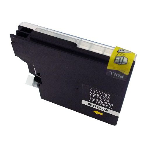 Compatible Brother LC1100BK Black also for LC980BK Inkjet