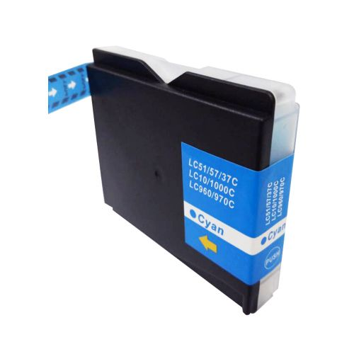 Compatible Brother LC1000C Cyan also for LC960C LC970C Inkjet