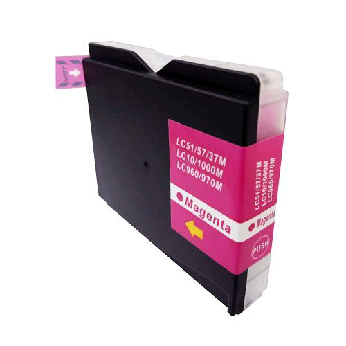 Compatible Brother LC1000M Magenta also for LC960M LC970M Inkjet