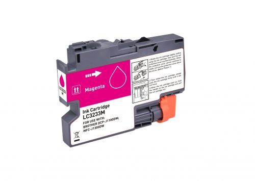 Compatible Brother LC3233M Magenta Inkjet