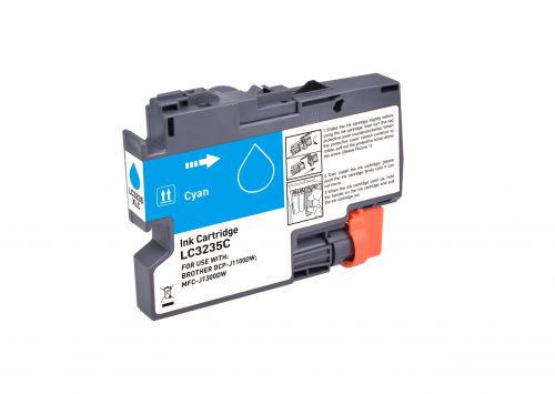 Compatible Brother LC3235XLC Cyan Hi Cap Inkjet