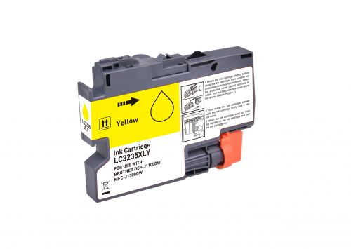 Compatible Brother LC3235XLY Yellow Hi Cap Inkjet