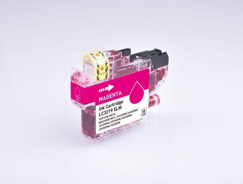 Alpa-Cartridge Comp Brother LC3219XLM Magenta Hi Cap  Ink Ctg