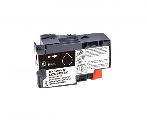 Compatible Brother LC3239XLBK Black Hi Cap Inkjet