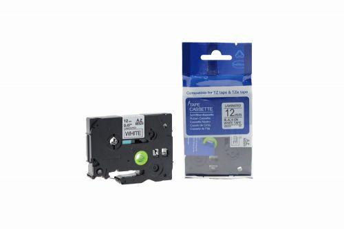 Alpa-Cartridge Comp Brother P Touch TZe-231 (YT-231) Label Cassette Black on White also for TZ-231