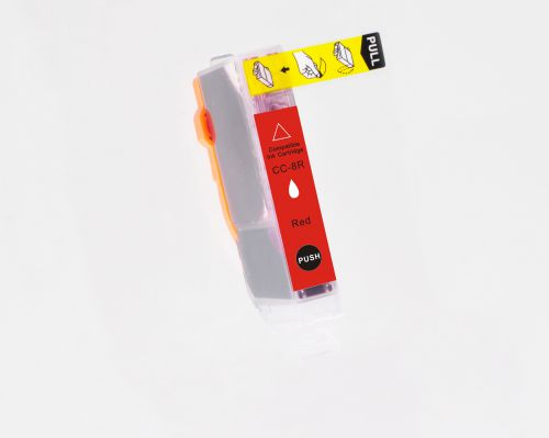 Compatible Canon CLI-8R Red Inkjet
