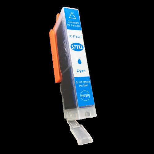 Alpa-Cartridge Comp Canon CLI-571XLC Hi Yld Cyan Ink Ctg