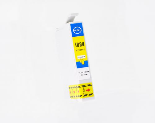 Alpa-Cartridge Comp Epson T1624 T1634 Yellow Ink T16244010 also for T16344010 [E1634]
