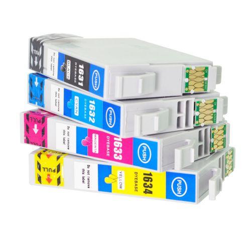Alpa-Cartridge Comp Epson 16XL T1636 High Cap Multipack of 4 Inks [E1631/2/3/4]