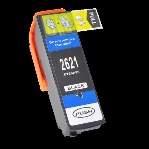 Alpa-Cartridge Comp Epson T2621 (26XL) Black Hi Cap Ink T26214010 also for T26214010 [E2621]