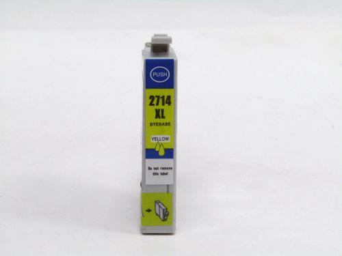 Alpa-Cartridge Comp Epson T2714 (27XL) Yellow Hi Cap Ink T27144010 [E2714XL]