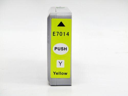Alpa-Cartridge Comp Epson T7014 Extra Hi Cap Yellow Ink Ctg T70144010  [E-7014]