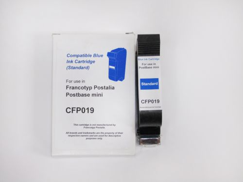Image for Compatible FP Postbase 58.0053.3046.00 Franking Cartridge Blue Ref 29510053