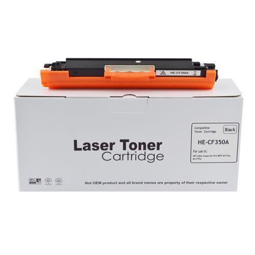Alpa-Cartridge Comp HP Laserjet Pro MFP P176 Black CF350A Toner also for 130A