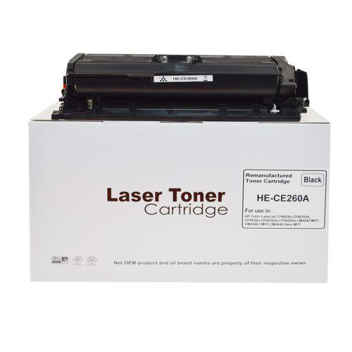Alpa-Cartridge Reman HP Laserjet CP4025 Std Black Toner CE260A HP648A