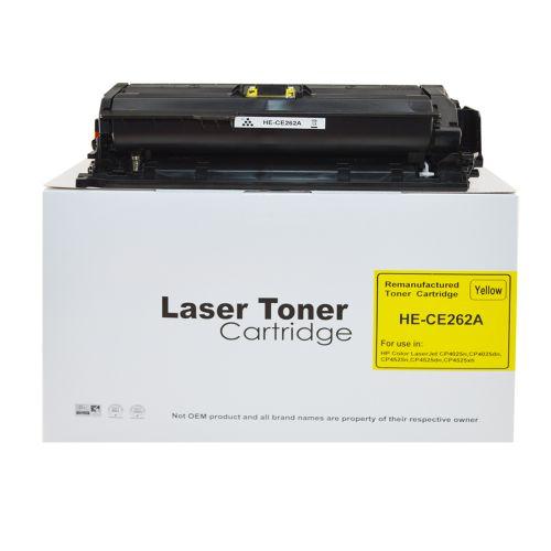 Alpa-Cartridge Reman HP Laserjet CP4025 Yellow CE262A Toner HP648A
