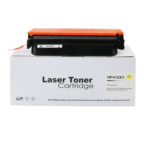 Alpa-Cartridge Comp HP CF412X Yellow Hi Yld Toner also for HP 412X