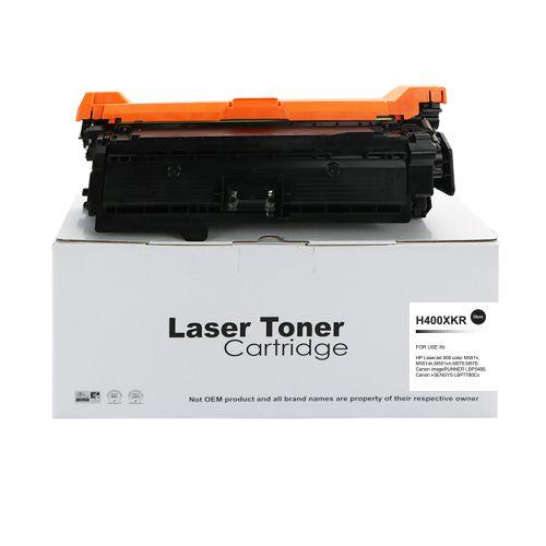 Alpa-Cartridge Reman HP Laserjet 500 Hi Yld Black CE400X Toner 507X also for Canon 732