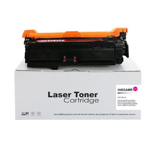 Alpa-Cartridge Reman HP Laserjet 500 Magenta CE403A Toner 507A also for Canon 732