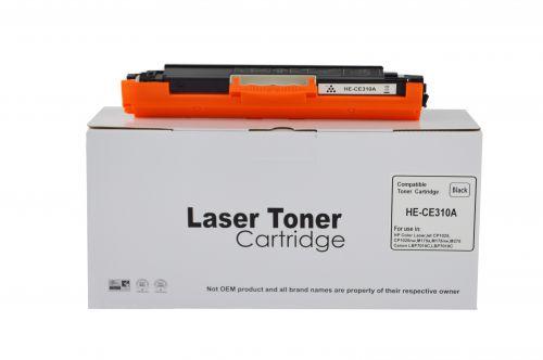 Alpa-Cartridge Comp HP CP1025 Black CE310A Toner Ctg also for 826A Canon 729
