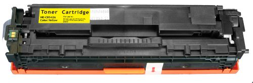 Alpa-Cartridge Comp HP Laserjet 1215 Yellow Toner CB542A also for Canon EP716Y