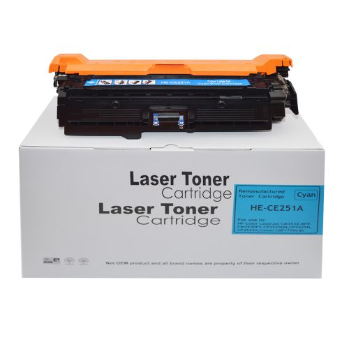 Remanufactured HP CE251A Cyan 504A also for Canon 723C Toner