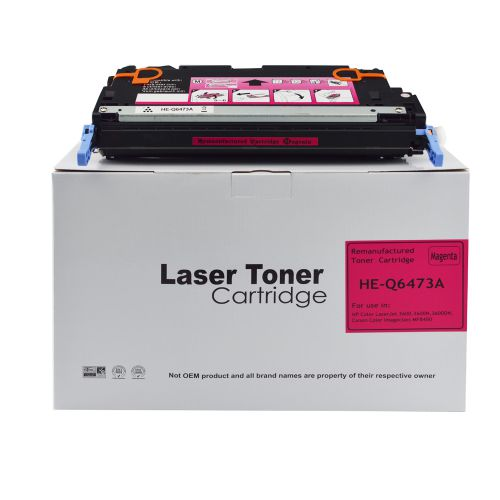 Remanufactured HP Q6473A Magenta also for Canon 711 EP711M Toner