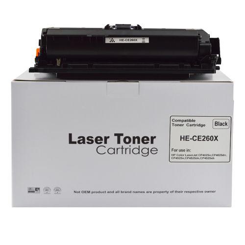 Comp Hewlett Packard CE260X Laser Toner